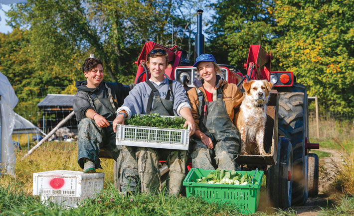 Vets and young folks offer new generation of organic farmers